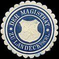 Siegelmarke Der Magistrat zu Landeck-Schlesien W0393690.jpg