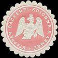 Siegelmarke Etappen-Bäckerei-Kolonne 8. Armee W0346878.jpg