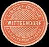Siegelmarke Gemeinde-Vorstand Wittgendorf an der Schlesischen Gebirgsbahn W0390376.jpg