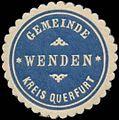 Siegelmarke Gemeinde Wenden Kreis Querfurt W0345594.jpg