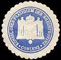 Siegelmarke Königliche Ober - Präsidium der Rheinprovinz - Coblenz W0226020.jpg