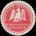 Siegelmarke K.Pr. 8. Kavalleriebrigade W0346795.jpg
