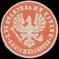 Siegelmarke K.Pr. Standesamt Kitzen Kreis Merseburg W0368035.jpg