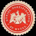 Siegelmarke K. Fortifikation zu Wesel W0288121.jpg