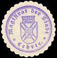 Siegelmarke Magistrat der Stadt - Lehrte W0229328.jpg