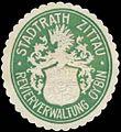 Siegelmarke Revierverwaltung Oybin Stadtrath Zittau W0385904.jpg