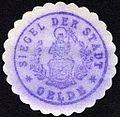 Siegelmarke Siegel der Stadt - Oelde W0229174.jpg