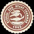 Siegelmarke Siegel der Stadt Cremmen W0262889.jpg