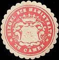 Siegelmarke Siegel des Magistrats zu Camen W0311547.jpg