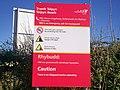 Sign at Telpyn Beach - geograph.org.uk - 1293071.jpg