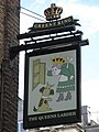 Sign for The Queen's Larder, Cosmo Place - Queen's Square, WC1 - geograph.org.uk - 1304765.jpg