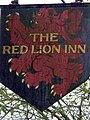 Sign for the Red Lion - geograph.org.uk - 1635218.jpg