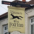 Sign of the Fox Inn, Ulceby - geograph.org.uk - 1670118.jpg