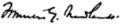 Signature of Francis Griffith Newlands.png