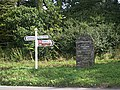 Signposts at Tavistock Cross - geograph.org.uk - 327183.jpg