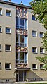 Simmering - Gemeindebau Salvador-Allende-Hof - Stiege 80.jpg