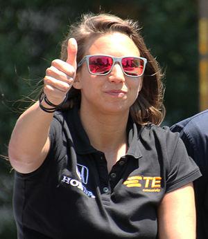 Simona de Silvestro - De Silvestro at the 2015 Indianapolis 500