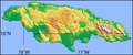 Simple topographic map of Jamaica.png