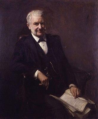 Frank Bramley - Image: Sir Frederick Augustus Abel, 1st Bt by Frank Bramley