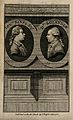 Sir Joseph Banks and Daniel Charles Solander. Line engraving Wellcome V0006787.jpg