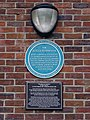 Sir Roger Bannister - Paddington Recreation Ground Randolph Avenue W9 (with supplimental plaque).jpg