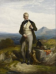 William Allan: Sir Walter Scott