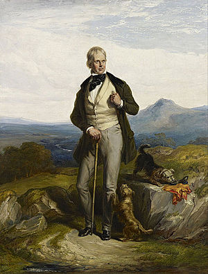 William Allan (painter) - Sir Walter Scott, novelist and poet - painted by Sir William Allan