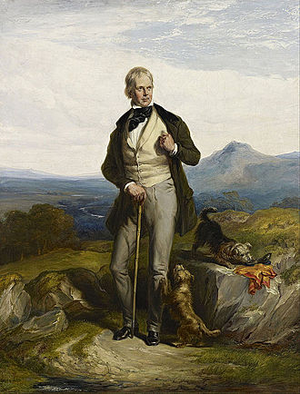 Walter Scott - Sir Walter Scott, novelist and poet – painted by Sir William Allan