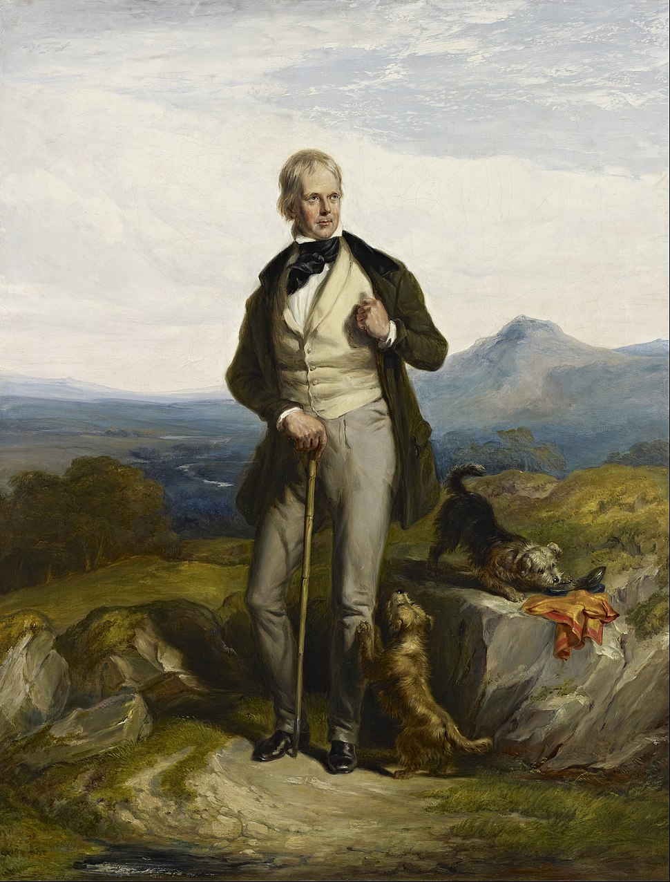 Sir William Allan - Sir Walter Scott, 1771 - 1832. Novelist and poet - Google Art Project
