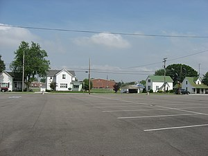 National Register of Historic Places listings in Shelby County, Ohio - Image: Site of the Botkins Elementary School