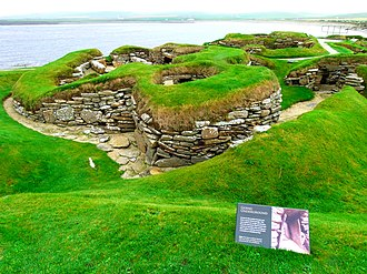 Heart of Neolithic Orkney - Image: Skara Brae panoramio