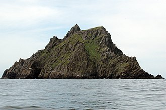 Star Wars: The Last Jedi - Skellig Michael, one of the film's locations