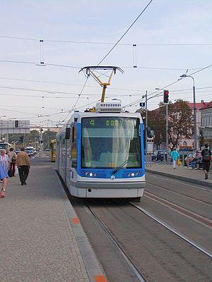 Škoda 05 T - Image: Skoda 05T Plzen