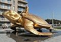 Skulptur Searching for Utopia von Jan Fabre in Nieuwpoort (Belgien) 2020-09-6.jpg
