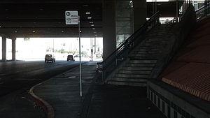 Metro ExpressLanes - Image: Slauson & 1 110 Metro Silver Line Station Picture 1