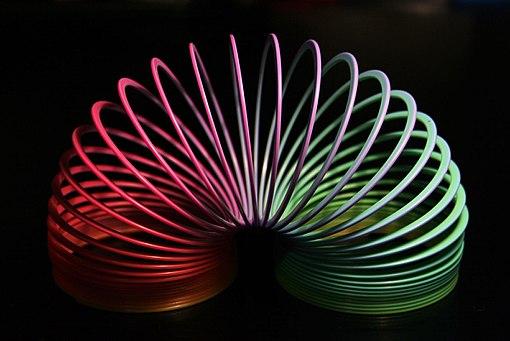 Slinky rainbow