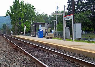 Sloatsburg, New York - Sloatsburg Train Station