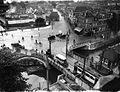Smakkelaarsbrug met oa Catharijnebrug in Utrecht rond 1925.jpg