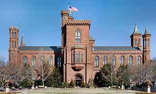 "Smithsonian Institution Building (""The Castle"") in 2007."