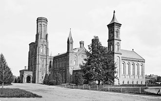 Smithsonian Institution Building - The Castle c. 1870