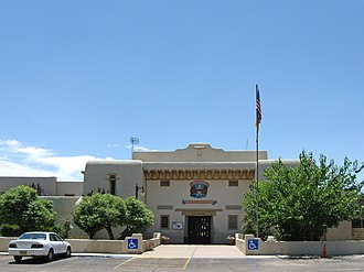 Socorro County, New Mexico - Image: Socorro County New Mexico Court House