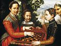 Sofonisba Anguissola - Portrait of the Artist's Sisters Playing Chess - WGA00697.jpg