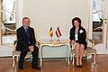 Solvita Āboltiņa tiekas ar Beļģijas vēstnieku (6305713778).jpg