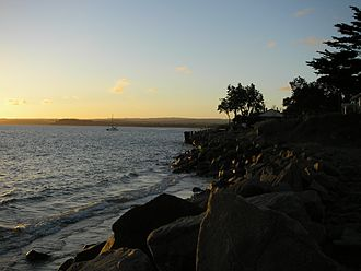 Somers, Victoria - Sunset at Somers