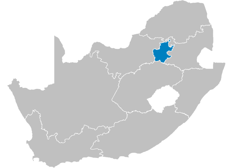File:South Africa Provinces showing GT.png