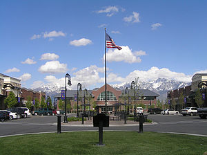 South Jordan, Utah - South Jordan City Hall, March 2006