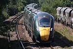 South Liberty Lane - GWR 800036 + 800026 Лондонский поезд.JPG