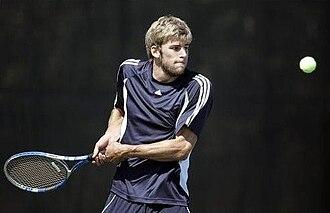 Southern Nash High School - A Southern Nash tennis player