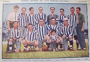 Sportivo Balcarce - Sportivo Balcarce squad in 1926.