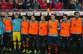 Spain - Chile - 10-09-2013 - Geneva - Mario Suarez, Iker Casillas, Jesus Navas, Jordi Alba, Andrès Iniesta, Nacho, Koke and Alvaro Negredo.jpg